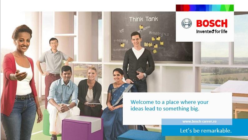 Internship-uri plătite la Bosch, te interesează?
